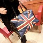 Flag Print Fashion Handbag..