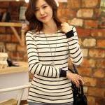 Lovely Womens Casual Long Sleeve St..