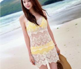 2013 Summer Long Hollow Out Crochet tank tops