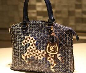 Cute Pony Print Handbag