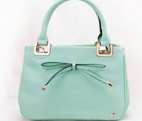 2013 Korean Lady Women Bow Handbag Purse Totes Satchel HOBO Bags Bag