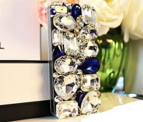 Big Rhinestone crystal iPhone 4 Case, rhinestone iPhone 5 Case